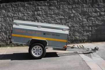 luggage trailer